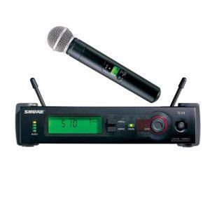 SHURE SLX24E/SM58 Handheld Wireless System SHURE SLX24E/SM58 ไมค์ลอยมือถือเดี่ยวSHURE SLX24E/SM58ชุดไมค์ลอยมือถือเดี่ยว