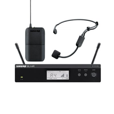 Headset Condenser Microphone SHURE BLX14R/P31 ไมค์ลอยคาดศรีษะ เดี่ยว ย่าน UHF แบบคอนเดนเซอร์ มีทิศทางการรับเสียงแบบcardioid SHURE BLX14R/P31 ไมค์คาดศรีษะ