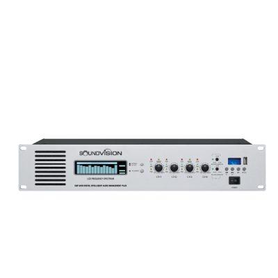 SOUNDVISION DAP-8400 เครื่องควบคุมเสียงห้องประชุม อัจฉริยะ Digital Intelligent Audio Management Plus SOUNDVISION DAP 8400 เครื่องขยายเสียง DAP 8400 แอมป์