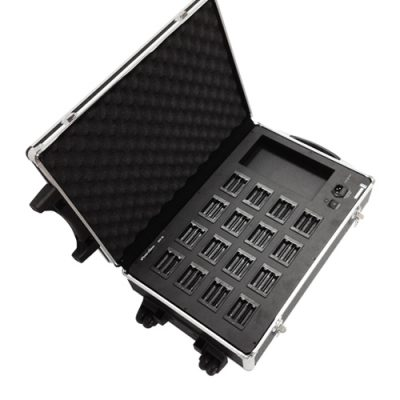 SOUNDVISION DCP-36 ชุดกระเป๋าชาร์ตแบตเตอร์รี่ ของ ไมค์ประชุมไร้สาย ขนาด 16 ช่องSOUNDVISION DCP-36 ชาร์ตเเบตเตอร์รี่ Battery Charger Case 16 pcs.