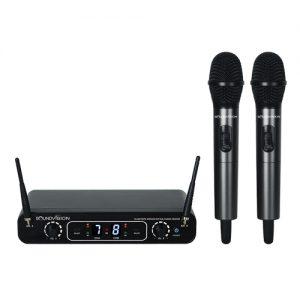 SOUNDVISION DU-288 Digital UHF Dual Handheld Wireless Microphone ชุดไมค์ลอย มือถือคู่ รับ-ส่ง สัญญาณแบบดิจิตอล ซาวด์ดีดี ช็อป