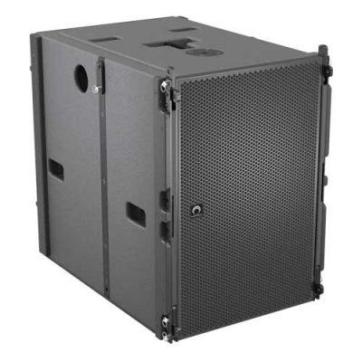 SOUNDVISION FLEXY X F-ONE saลำโพงซับไลน์อาร์เรย์ มีแอมป์ในตัว 15 นิ้ว SOUNDVISION FLEXY X F-ONE sa Active Dual 15-Inch SubwooferFLEXY X F ONE sa