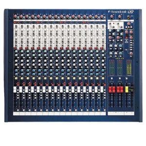 SOUNDCRAFT LX7ii-16CH Analog MixerSOUNDCRAFT LX7ii-16CH อนาล็อก มิกเซอร์ 16 ชาแนลเครื่องผสมสัญญาณเสียงSOUNDCRAFT LX7ii-16CH มิกเซอร์ อนาล็อก