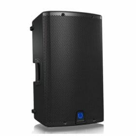 TURBOSOUND iX12 ตู้ลำโพง 12 นิ้ว 2 ทาง 1,000 วัตต์ มีแอมป์ในตัว คลาส D ตอบสนองความถี่ 50 Hz – 20 kHz มีบลูทูธในตัว สามารถควบคุมการทำงานโดย iPhone/iPad ได้