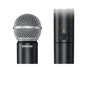 SHURE BLX288/SM58 Dual Channel Handheld Wireless Systems SHURE BLX288/SM58 ไมค์ลอยมือถือคู่SHURE BLX288/SM58 ไมโครโฟนไร้สาย