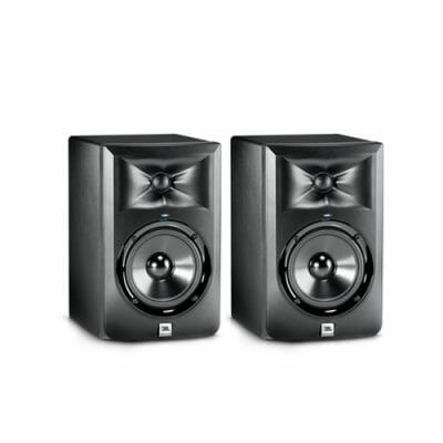 "JBL LSR305 ตู้ลำโพงมอนิเตอร์สตูดิโอ 5 นิ้ว 2 ทาง 41 วัตต์ มีแอมป์ในตัว คลาส D JBL LSR305 5"" 2-Way Powered Studio Monitor Class Dของแท้ มีประกัน ส่งฟรี!!"