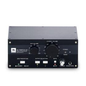 JBL M-Patch 2 Passive Stereo Controller and Switch Box JBL M-Patch 2 กล่องควบคุมและสลับสัญญาณเสียงแบบสเตอริโอJBL M-Patch 2 ของแท้ มีประกัน รับบัตรเครดิต