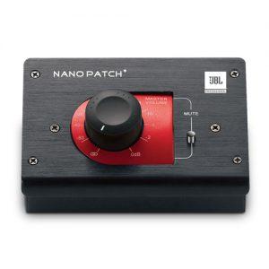 JBL Nano Patch+ ตัวควบคุมระดับสัญญาณเสียงลำโพง 2 ชาแนลJBL Nano Patch+โวลุ่มปรับเสียง JBL Nano Patch+Compact 2 Channel Passive Volume Controller