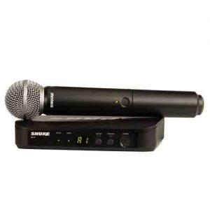 SHURE BLX24/SM58 SHURE BLX24/SM58 ชุดไมค์ลอย แบบมือถือ ย่าน UHFSHURE BLX24/SM58ไมค์ลอย ไมโครโฟนไร้สาย ของแท้ มีประกัน จัดส่งฟรีทั่วไทย!!
