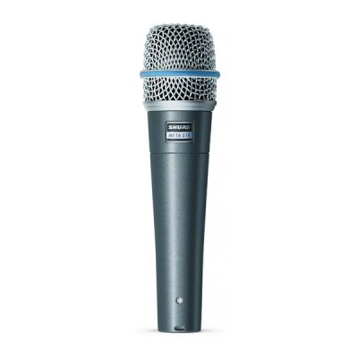 SHURE BETA 57A ไมค์จ่อเครื่องดนตรี SHURE BETA 57Aไมโครโฟนเครื่องดนตรี เหมาะสำหรับเครื่องดนตรีประเภทกลองเช่น ใช้รับเสียงสแนร์, กลองทอมหรือ กลอง Acoustic ฯลฯ