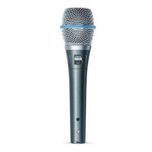 SHUREBETA 87A Vocal Microphone SHURE BETA 87A ไมค์สำหรับร้อง และพูดแบบคอนเดนเซอร์ SHUREBETA 87Aไมโครโฟน สำหรับร้องเพลง