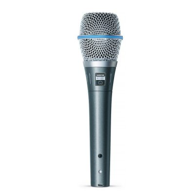 SHUREBETA 87C Vocal MicrophoneSHURE BETA 87C ไมค์สำหรับร้อง และพูดแบบไดนามิกSHURE BETA 87C ไมโครโฟน สำหรับร้องเพลง ของแท้ มีประกัน จัดส่งฟรี
