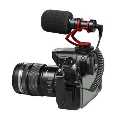 COMICA CVM-VM10 II Micro Compact Directional Condenser ไมค์ช็อตกัน รับเสียงระยะไกล ขนาดเล็ก สำหรับกล้อง DSLR, สมาร์ทโฟน ซาวด์ดีดี ช็อป