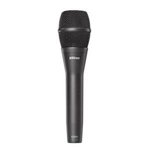 SHURE KSM9Handheld Vocal MicrophoneSHURE KSM9 ไมค์สำหรับร้อง/พูดไมค์ไดนามิก สำหรับร้องเพลง และพูดในงานต่างๆSHURE KSM9 ไมโครโฟนร้องเพลง
