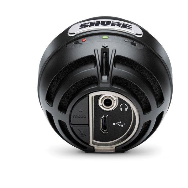SHUREMV5-LTGCondenser Microphone for iOS and USB SHURE MV5-LTG ไมค์บันทึกเสียง ดิจิตอล SHURE MV5-LTG ไมโครโฟนบันทึกเสียง ของแท้ มีประกัน ส่งฟรีทั่วประเทศ!