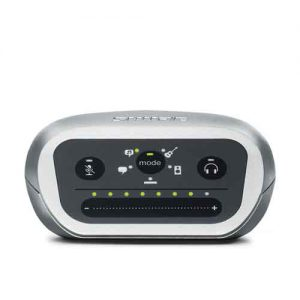 SHUREMVIiOS and USB Digital Audio Interface SHURE MVI อุปกรณ์เชื่อมต่อดิจิตอล สำหรับบันทึกเสียง แบบพกพาSHURE MVI Audio Interface