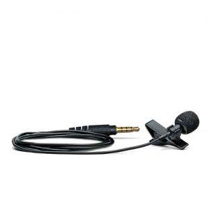 SHUREMVLOmnidirectional Lavalier Microphone for Mobile Devices SHURE MVL ไมค์ติดสมาร์ทโฟน แบบหนีบเสื้อ SHURE MVL ไมค์ติดโทรศัพท์ ของแท้ มีประกัน ส่งฟรี!!