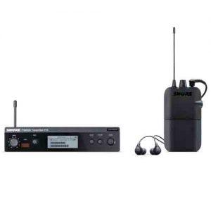 SHURE P3TR112GR-R12 Wireless Personal Monitor System Set พร้อมหูฟัง SE112 ชุดเครื่องส่ง และเครื่องรับแบบไร้สาย ระบบ ดิจิตอล พร้อมหูฟัง
