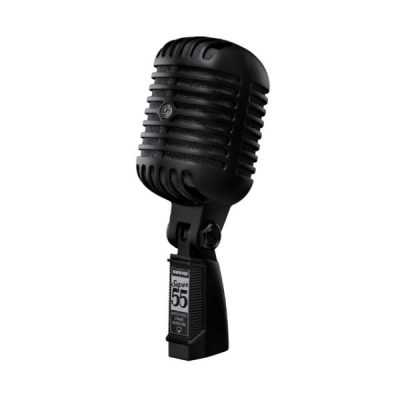Deluxe Vocal Microphone SHURE SUPER 55 ไมค์สำหรับร้อง/พูด แบบไดนามิก มีทิศทางรับเสียงแบบ Supercardioid SHURE SUPER 55 ไมโครโฟนร้องเพลง