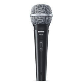 SHURE SV100 ไมค์ร้อง SHURE SV100 ไมโครโฟนร้องเพลงSHURE SV100 ไมโครโฟนอเนกประสงค์ Multi-Purpose Microphone ของแท้ มีประกัน