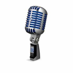 SHURESUPER 55 Deluxe Vocal Microphone SHURE SUPER 55 ไมค์สำหรับร้อง/พูด แบบไดนามิก มีทิศทางรับเสียงแบบ Supercardioid SHURE SUPER 55 ไมโครโฟนร้องเพลง