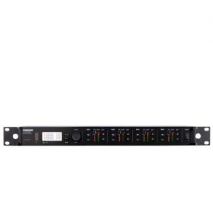 SHUREULXD4Q Quad Channel Digital Wireless Receiver SHURE ULXD4Q เครื่องรับสัญญาณ ไมค์ลอย 4 ชาแนล ระบบดิจิตอลSHURE ULXD4Q เครื่องรับสัญญาณ 4 ชาแนล