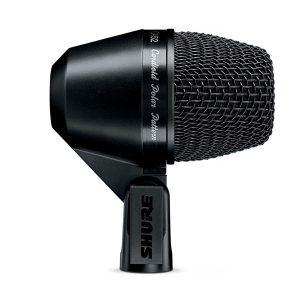 SHURE PGA52-LC Cardioid Dynamic Kick Drum Microphone SHURE PGA52-LC ไมค์จ่อเครื่องดนตรีSHURE PGA52 ไมโครโฟน กลอง ไมค์สำหรับจ่อเครื่องดนตรี ไมค์สำหรับกลอง