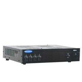 มิกเซอร์แอมป์ 4In/1Out 80W ที่ 4 โอห์ม 80W ที่ 70/100V CROWN 180MA มิกเซอร์แอมป์ แบบ 70V/100V 80 วัตต์ 4 MICCROWN 180MAMixer-Amplifier