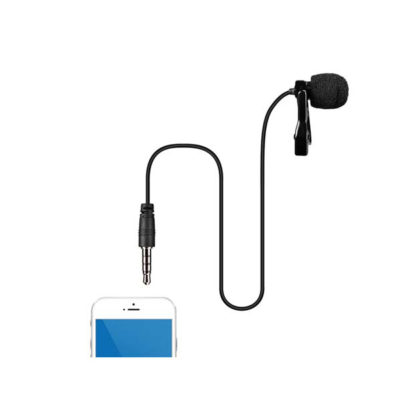 COMICA CVM-V01SP Lavalier Microphone for Smartphon ไมค์คลิปหนีบปกเสื้อ สำหรับสมาร์ทโฟน COMICA ไมค์คลิป CVM-V01SP ไมค์คลิป ซาวด์ดีดี ช็อป