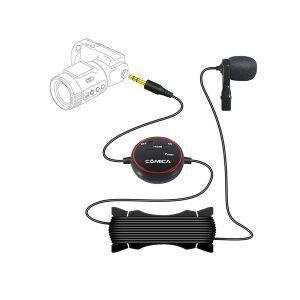 COMICA CVM-V03 Lavalier Microphone for Camera, Gopro and Smartphone ไมค์คลิปหนีบปกเสื้อ สำหรับกล้อง GoPro, สมาร์ทโฟน และกล้องวีดีโอ DSLR