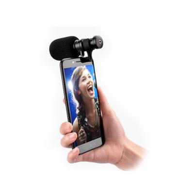 COMICA CVM-VS08 Directional Condenser Shotgun Video Microphone for Smart phone ไมค์ช็อตกัน รับเสียงระยะไกล ขนาดเล็ก สำหรับ สมาร์ทโฟน