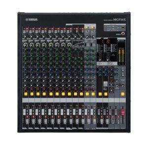 YAMAHA MGP16X มิกเซอร์ อนาล็อก 16 ชาแนล YAMAHA MGP16XAnalog Mixer16 Channel 10 Mic YAMAHA MGP16Xเครื่องผสมสัญญาณเสียง อนาล็อก