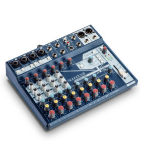 SOUNDCRAFT Notepad 12FX อนาล็อก มิกเซอร์ 12 ชาแนล Small-format Analog Mixing Console with USB I/O and Lexicon Effects มีประกัน รับบัตรเครดิต/ผ่อน ออนไลน์