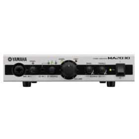 YAMAHA MA2030 Mixing Amplifier มิกเซอร์พร้อมแอมป์ขยายเสียง Class-D 30W x 2 มิกเซอร์พร้อมแอมป์ขยายเสียง แบบ 70V/100V 30*2 วัตต์ Stereo 2 MIC Mixing Amplifier