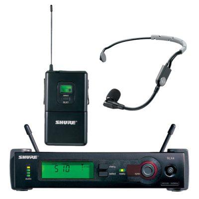 SHURE SLX14/SM35 Headset Wireless Microphone SHURE SLX14/SM35 ไมค์ลอยคาดศรีษะ เดี่ยว ย่าน UHFSHURE SLX14/SM35 ไมโครโฟนคาดศรีษะ ของแท้ มีประกัน ส่งฟรี!!