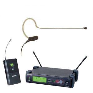 Earset Headworn Wireless System SHURE SLX14/MX153/O-TQG ชุดไมค์ลอยเกี่ยวคล้องหูSHURE SLX14/MX153 ไมค์ลอยเกี่ยวคล้องหู หัวเชื่อมต่อแบบ TQG