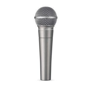SHURE SM58-50A ไมค์สำหรับร้อง/พูด SHURE SM58 ไมโครโฟนสำหรับร้องเพลง หรือใช้พูด SHURE SM 58 ของแท้ มีประกัน รับบัตรเครดิตออนไลน์
