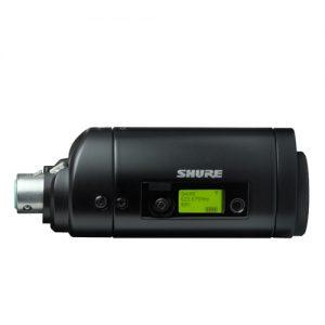 Plug-on Wireless Microphone Transmitterเครื่องส่งไมโครโฟนไร้สายพกพา SHURE UR3 เครื่องส่งไมค์ลอย SHURE UR3เครื่องส่งไมโครโฟนไร้สายพกพา ของแท้ มีประกัน