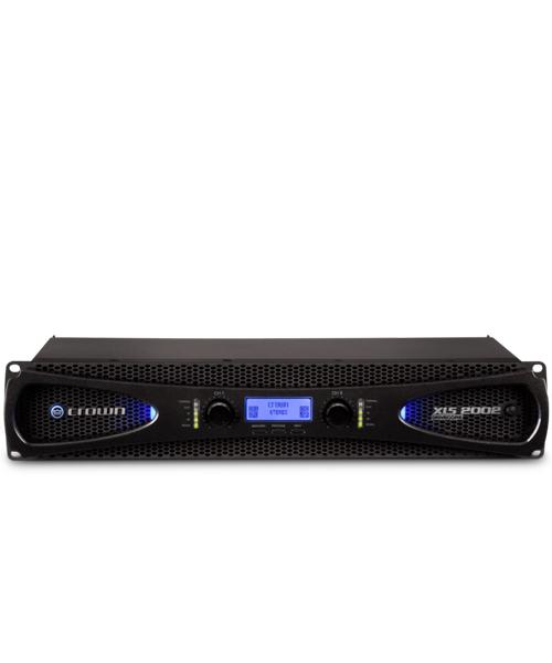 CROWN XLS 2002 เพาเวอร์แอมป์ขยายเสียง เครื่องขยายเสียง 2 x 650 วัตต์ ที่ 4 โอห์ม Class D (Power amplifier)CROWN XLS 2002Power Amplifier