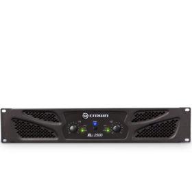 CROWNXLi 2500 Two-channel, 750W @ 4Ω Power Amplifier CROWN XLi 2500 เพาเวอร์แอมป์ 2x750 วัตต์ @4 OhmsCROWN XLi 2500Power Amplifier