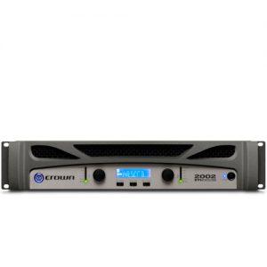 CROWNXTi 2002 Two-channel, 800W @ 4Ω Power Amplifier CROWN XTi 2002 เครื่องขยายเสียง 2 ชาแนล 800 วัตต์ ที่ 4 โอมห์CROWN XTi 2002Power Amplifier