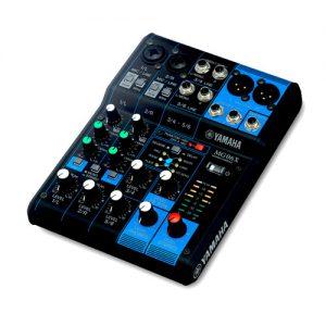 YAMAHA MG06X มิกเซอร์ อนาล็อก 6 ชาแนล YAMAHA MG06X Analog Mixer YAMAHA MG06X เครื่องผสมสัญญาณเสียง อนาล็อก ของแท้ มีประกัน 1 ปี ส่งฟรีทั่วประเทศ!!