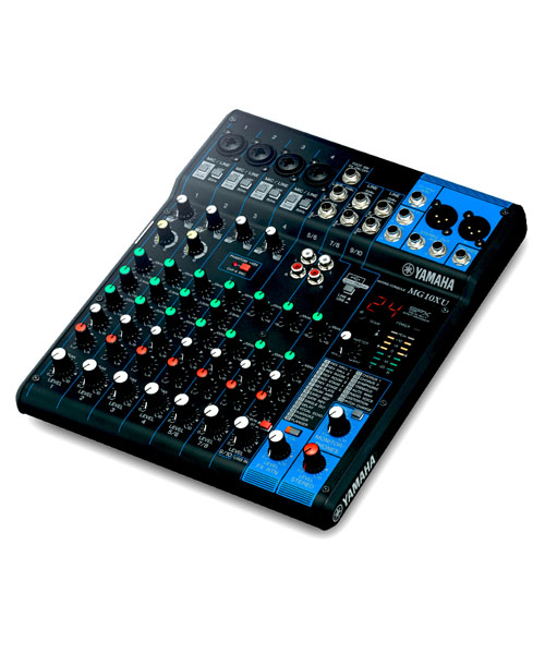 YAMAHA MG10XU มิกเซอร์ อนาล็อก 10 ชาแนล YAMAHA MG10XU เครื่องผสมสัญญาณเสียง อนาล็อก YAMAHA Analog Mixer ของแท้ รับประกัน 1 ปี จัดส่งฟรีทั่วประเทศ!!