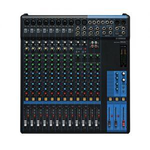 YAMAHA MG16 มิกเซอร์ อนาล็อก 16 ชาแนล YAMAHA MG16 Analog Mixer 16 Input YAMAHA MG16 เครื่องผสมสัญญาณเสียง อนาล็อก ของแท้ มีประกัน 1 ปี ส่งฟรีทั่วประเทศ!!