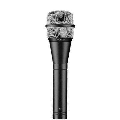 EVPL-80A PREMIUM DYNAMIC VOCAL MICROPHONE EV PL-80A ไมค์สำหรับร้อง/พูด ไมโครโฟน แบบไดนามิก ทิศทางรับเสียงแบบSUPERCARDIOIDElectro-voicePL-80aVOCAL MICROPHONE