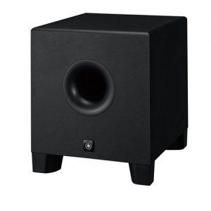 YAMAHA HS 8S ตู้ลำโพงซับวูฟเฟอร์ มอนิเตอร์สตูดิโอ มีแอมป์ในตัว 8 นิ้ว คลาส D 150WYAMAHA HS8S ลำโพงสตูดิโอ ซับวูฟเฟอร์ Powered Subwoofer Studio Monitor