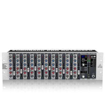 BEHRINGER EURORACK PRORX1202FX Premium 12-Input Mic/Line Rack Mixer with XENYX Mic Preamplifiers, British มิกเซอร์ยึดแรกส์ 12 อินพุตไมค์Rackmount