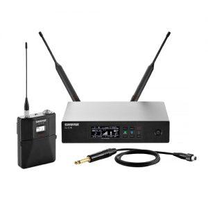 SHURE QLXD14 Bodypack Wireless System (Q51)SHURE QLXD14 ชุดเครื่องรับ-ส่งไมค์ลอยพกพา(ยังไม่รวมไมโครโฟน) ย่าน UHF (794 - 806MHz) ระบบดิจิตอล