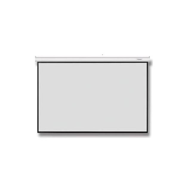 RAZR EMW-H200 จอรับภาพแขวนผนัง/เพดาน มอเตอร์ไฟฟ้า 98x174 นิ้ว เส้นทแยงมุม 200 นิ้วRAZR EMW-H200 จอโปรเจคเตอร์ Metal Motorized Screens (Projectior Screen)