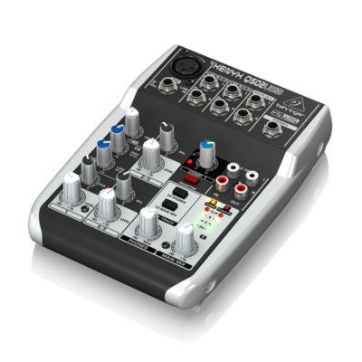 BEHRINGER XENYX Q502USBPremium 5-Input 2-Bus Mixer BEHRINGER XENYX Q502USB เครื่องผสมสัญญาณเสียงอนาล็อก BEHRINGER XENYX Q502USBมิกเซอร์อนาล็อก